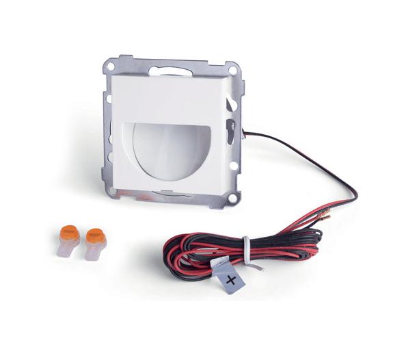Moderne Elko LED veggarmatur 1W for ramme PH PW-36