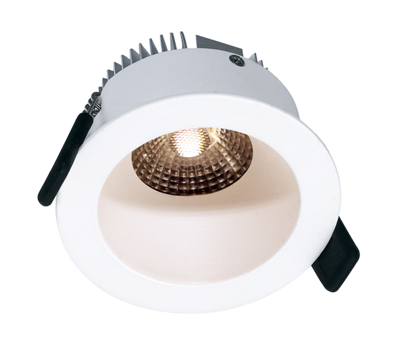 NP Helo LED Downlight 8W Matt Hvit IP44 Nordic Products