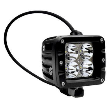 LED ARBEIDSLYS FIRKANTET 40W 3200LM M bREDT LYSBILDE 120