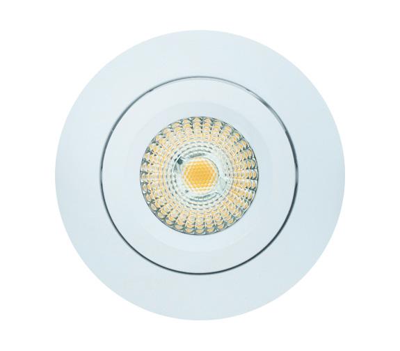 NP ECO Downlight WarmDim 8W IP44 Matt Hvit