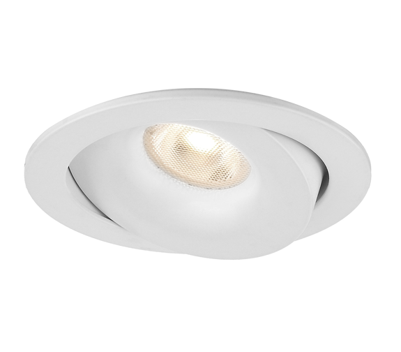Luna Isolasjon Downlight 8W Matt Hvit IP54 Nordic Products