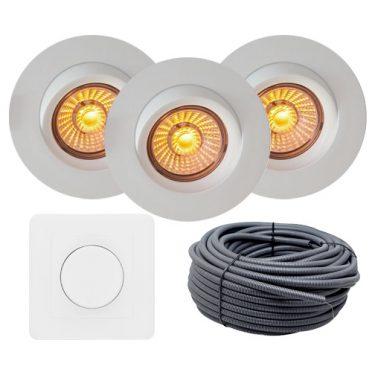 led downlight isolasjon optimal nordic led norge