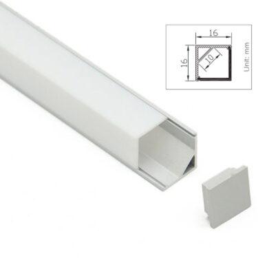Maxi 4K Aluprofil nordic led