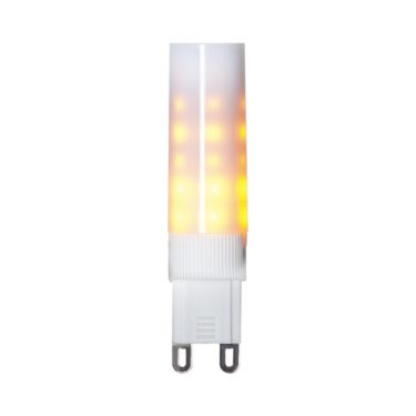 Star Trading Decoration LED Flame lamp G9 1300K