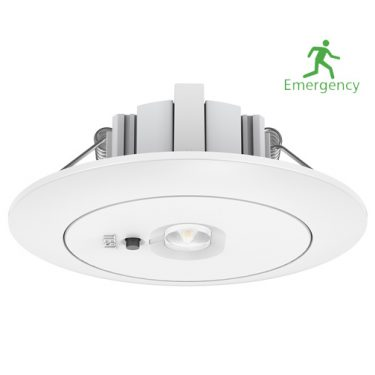 LED Nodlys Downlight innfelt