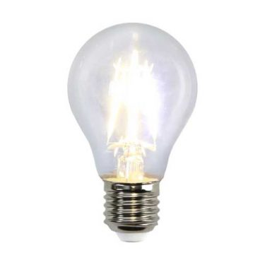 Illumination Normal Filament A60 4W E27 Klar 470Lumen
