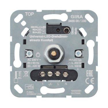 System 3000 LED dimmer universal trykk vri komfort