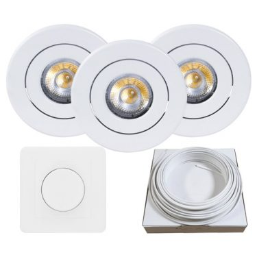 downlight nova led nordic hvit