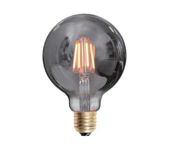 LED pære Globe E27 4W dimbar