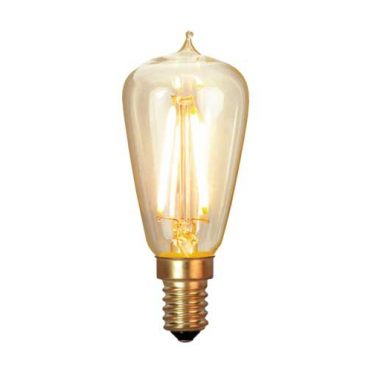 Decoration LED Klar filament E14 1,7W 2200K 120lm Dimbar