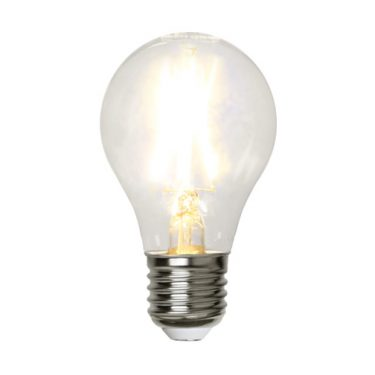 Illumination Normal Klar Filament 2W E27 2700K 220lm