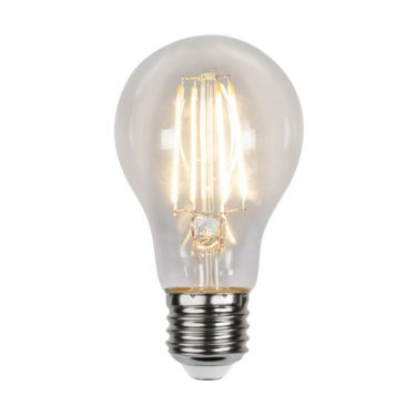 Illumination Normal LED Klar Lyssensor E27 4,2W 2700K 420lm