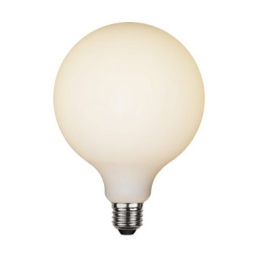 Illumination Globe Opal 125mm E27 5W 2600K 400lm Dimbar