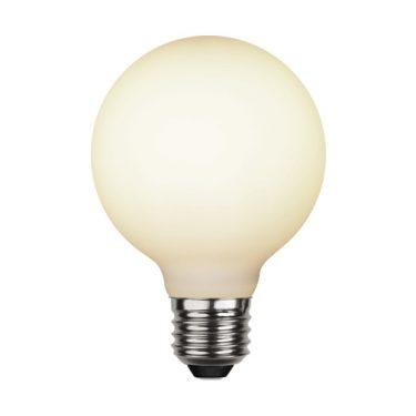 Illumination G80 Opal E27 5W 2600K 400lm Dimbar
