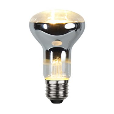 Illumination LED R63 Klar E27 4W 2700K 300lm Dimbar