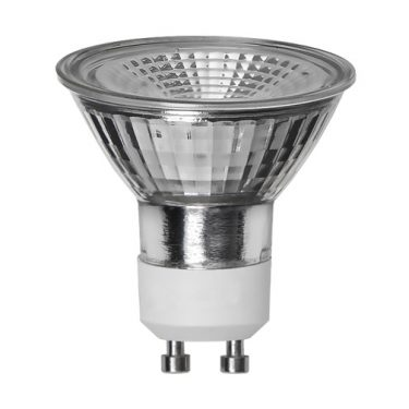 LED-LAMPA GU10 MR16 SPOTLIGHT GLASS