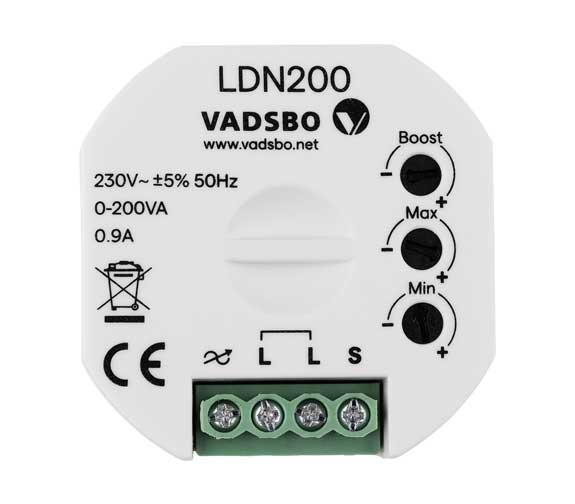 Vadsbo LDN200 LED Dimmer utan nolla