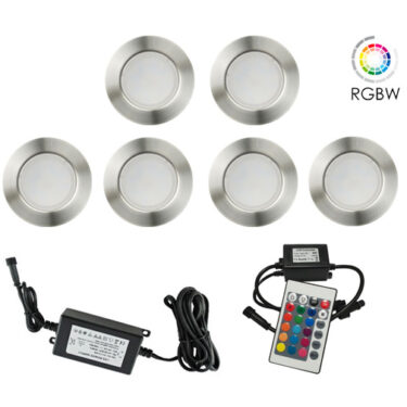 NP Terrassebelysning LED 6 X 0,3W RGBW IP67