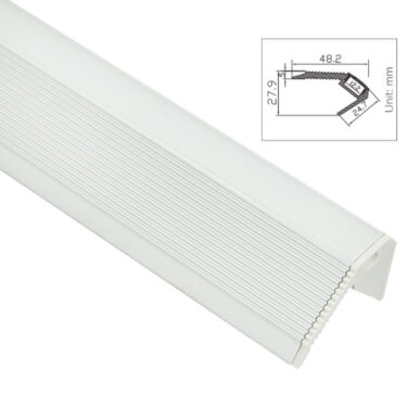 Trappenese for LED striper opptil 12mm