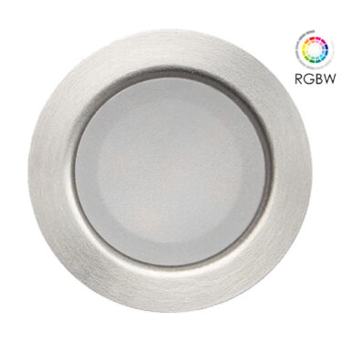 NP LED Trappelys Rund 0,5W RGBW IP67 Dimbar
