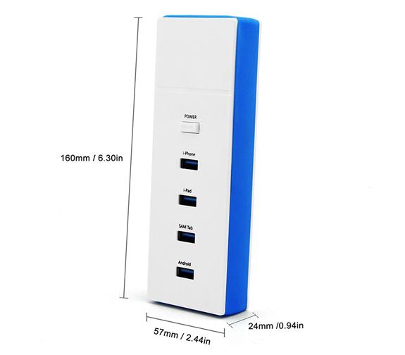 Nordic smart USB lader med fire USB porter | Nordic LED