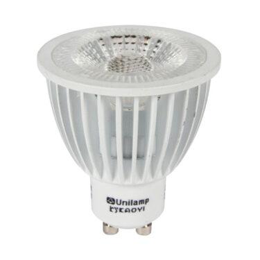 Spotlight LED Pære GU10 PrismaCob+ 2700K 6,5W 40° Hvit