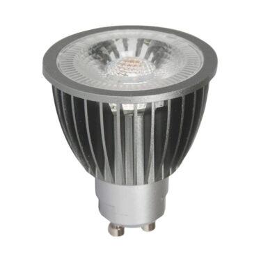 Spotlight LED Pære GU10 PrismaCob+ 2700K 6,5W 40° Grå
