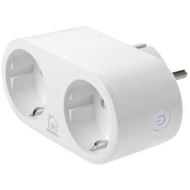 Deltaco SH-P02 Trådløs Smartplugg 802.11b/g/n