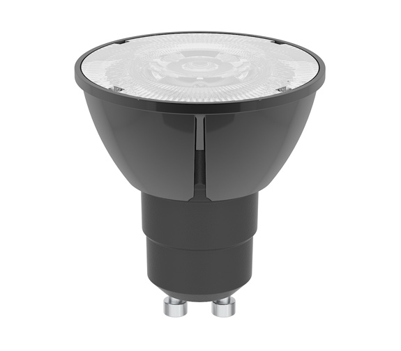 Spotlight LED bulb 6 5 W 2700K 600lm GU10 sort