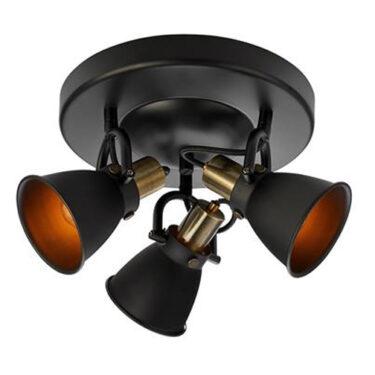 Alton Taklampe 3L Sort