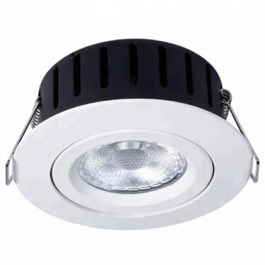 NP Ultraslim LED Downlight Warmdim 5W Isolasjon Matt Hvit