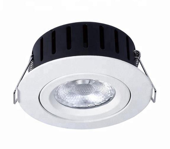 NP Ultraslim LED Downlight Warmdim 5W Isolasjon Matt Hvit