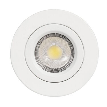 NP Nova LED Downlight IP44 Matt Hvit 1