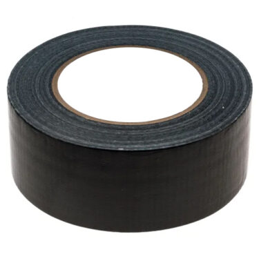 Nordic Products Sort Lerretstape 48X0,18mm 25 Meter