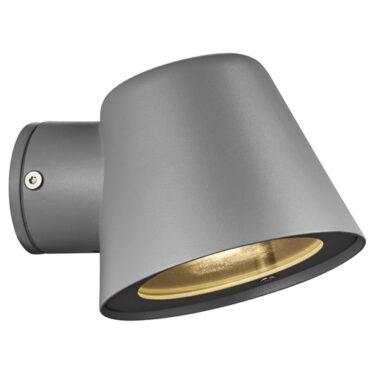Aleria Vegglampe IP44 Grå