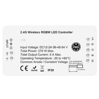 RF 2.4G Zigbee PRO RGBW LED Mottakere