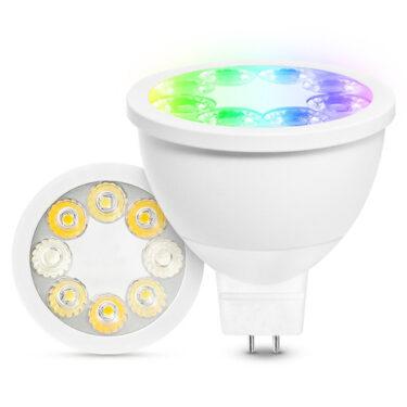 LED Spot 4W RGB+CCT Zigbee PRO GU5.3/MR16