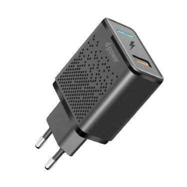 Nordic Products USB Hurtiglader 230V USB 18W 5V-12V